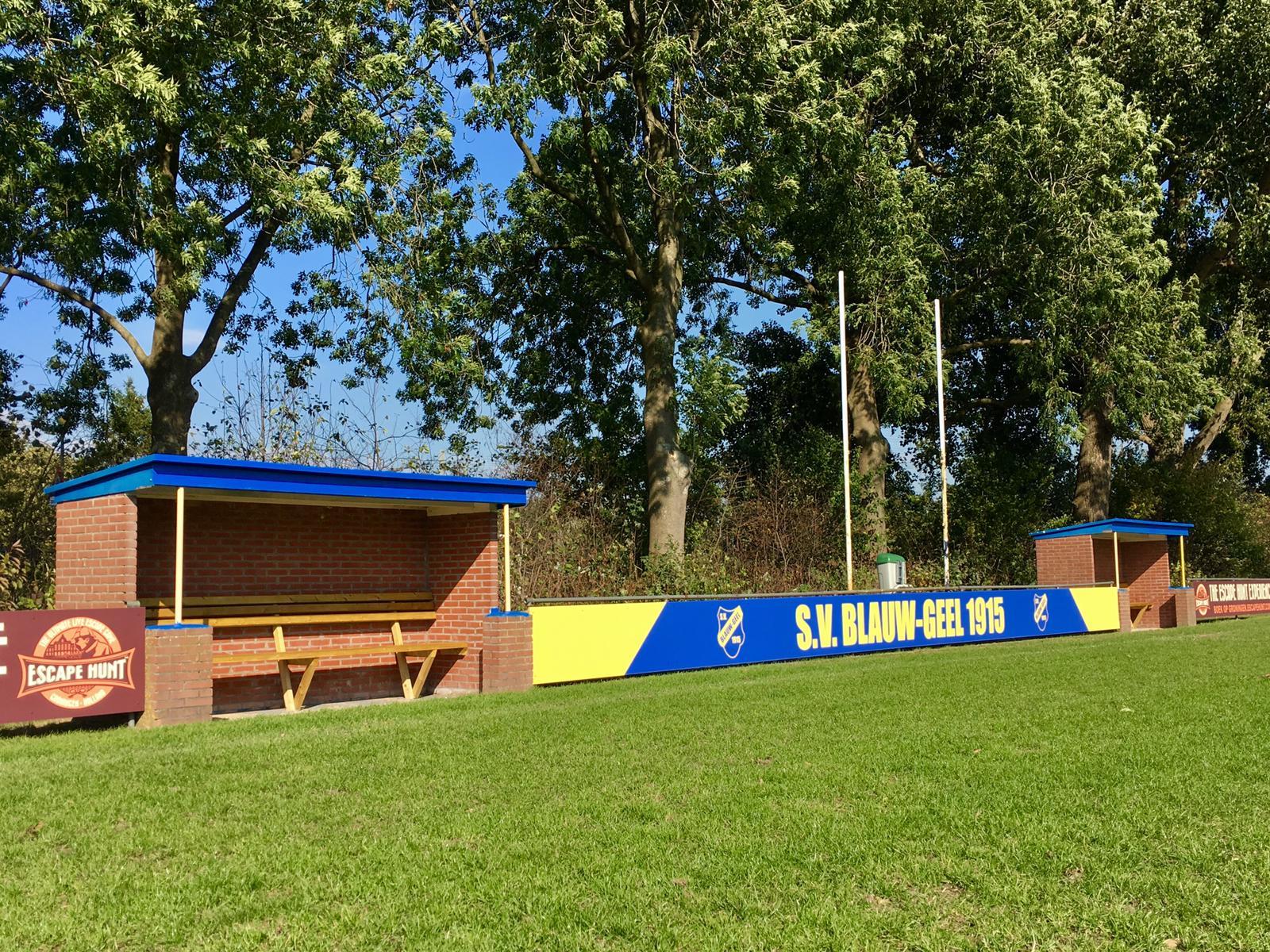 Hoofdveld Blauw-Geel opgeknapt