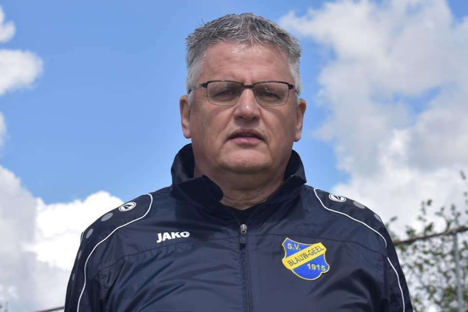 Hoofdtrainer Johannes Noorda verlaat s.v. Blauw-Geel aan het einde van dit seizoen.