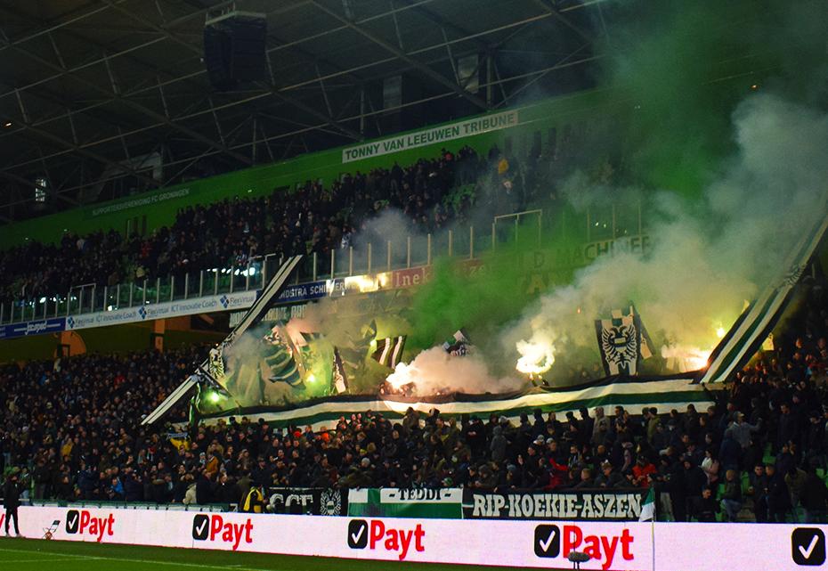 s.v. Blauw-Geel leden voor 10 euro naar FC Groningen!